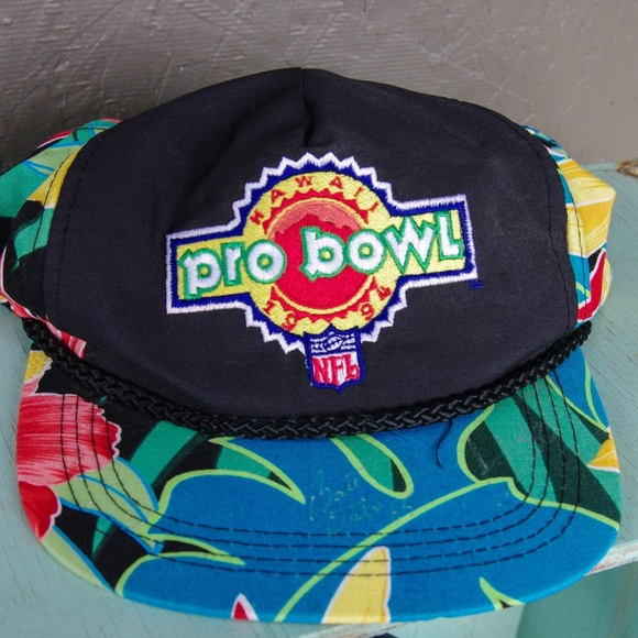 60c3e6f8 Autographed Pro Bowl 1994 Hat